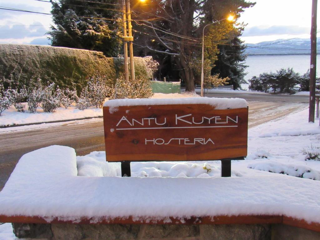 Hostería Antu Kuyen durante el invierno