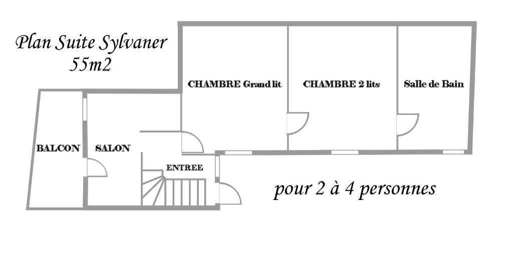 Chambre d'Hôtes Le Clos des Raisins