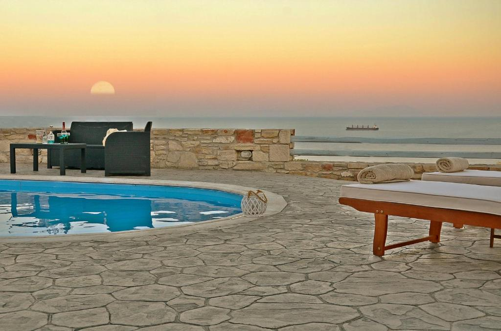 The swimming pool at or near Mastiha Villas