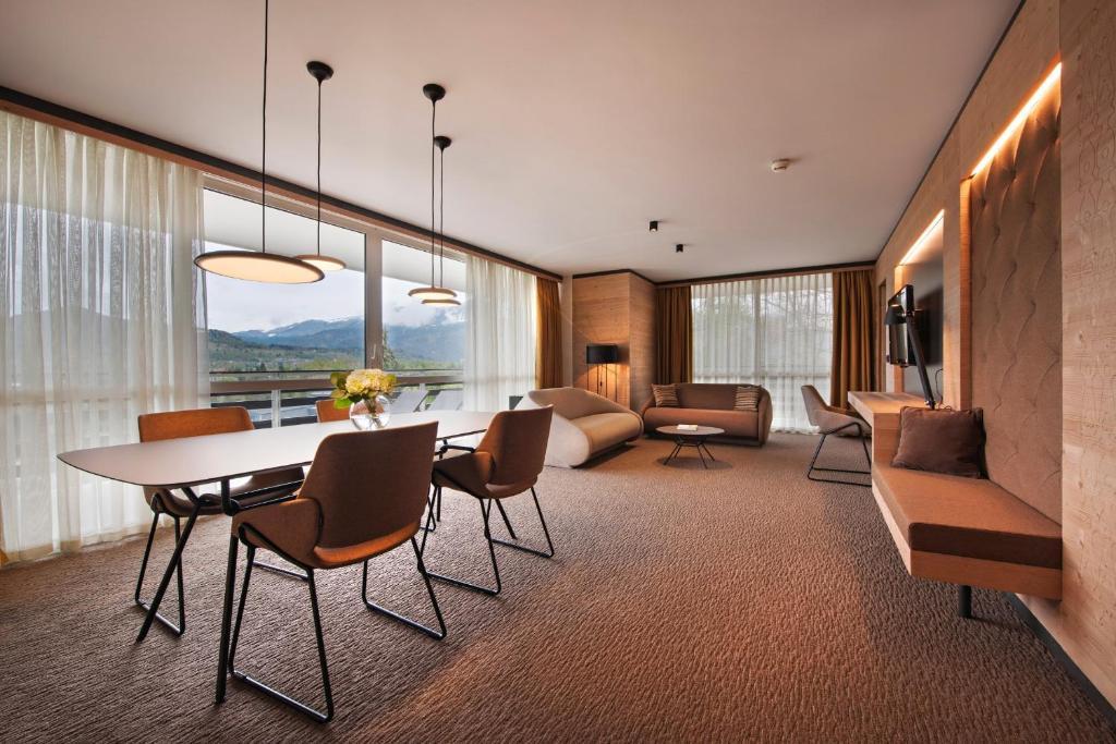 Coin salon dans l'établissement Rikli Balance Hotel – Sava Hotels & Resorts