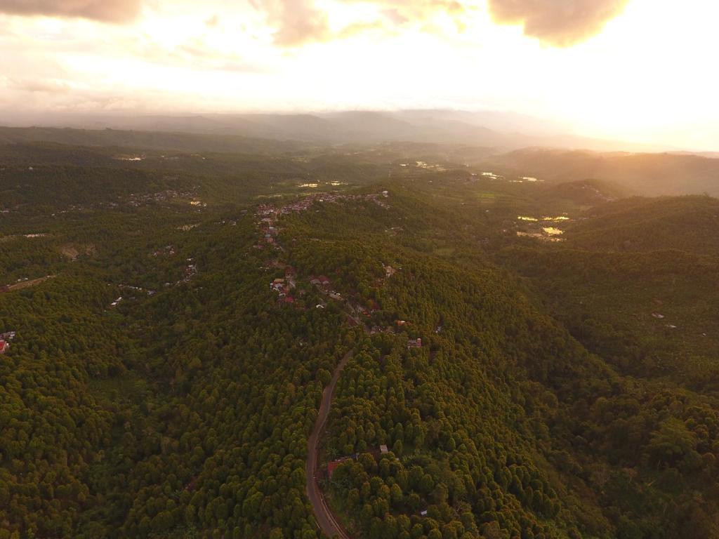 A bird's-eye view of Adila Warung and Homestay