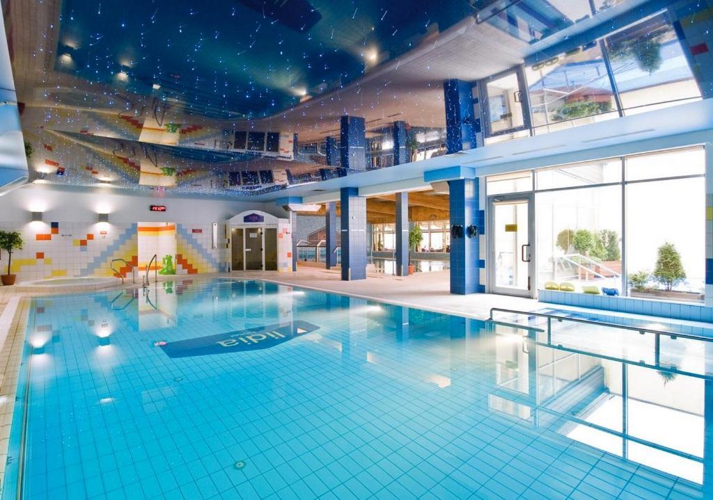 Swimmingpoolen hos eller tæt på Hotel Lidia Spa & Wellness