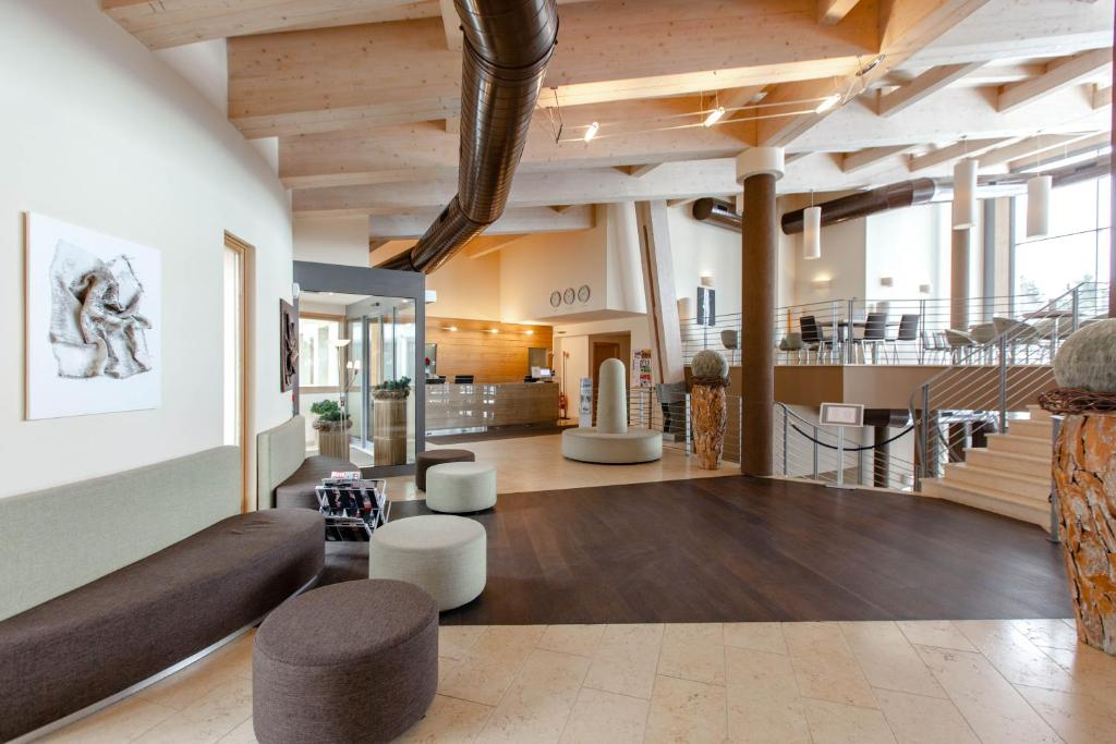The lobby or reception area at Le Blanc Hotel & Spa
