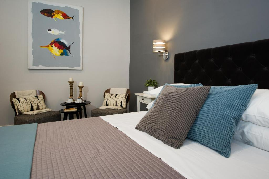 A bed or beds in a room at Maison Boncompagni