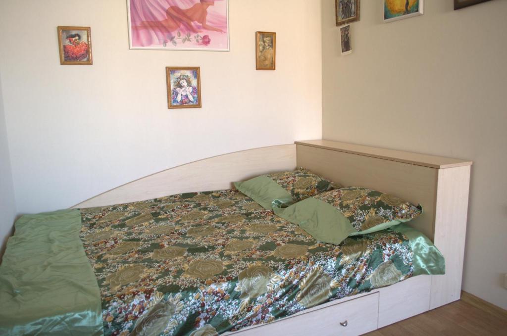 Кровать или кровати в номере Sea View Apartments