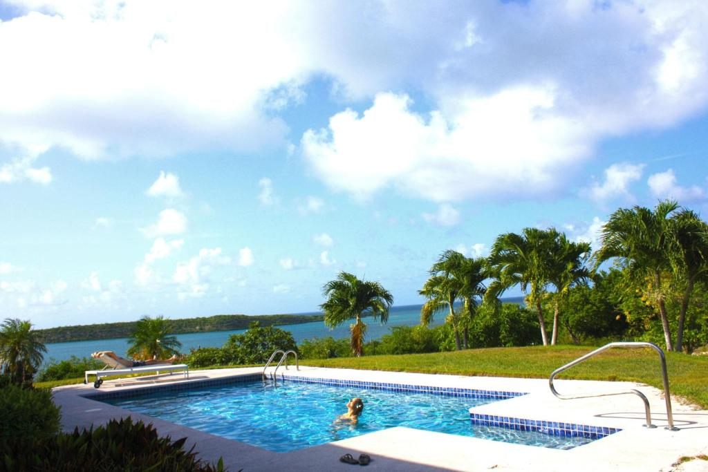 The swimming pool at or near Blue Bay Antigua