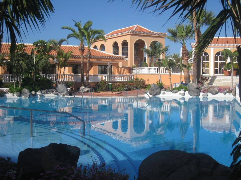 The swimming pool at or near Tenerife Royal Gardens