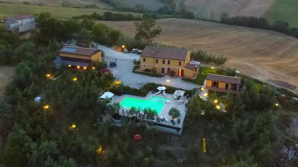 Vista aerea di Tenuta Belvedere