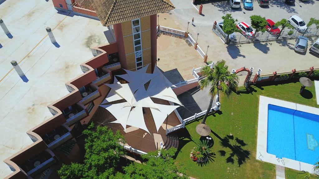 A bird's-eye view of Hotel El Mirador de Rute