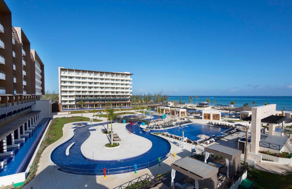 A view of the pool at Royalton Blue Waters All Inclusive or nearby