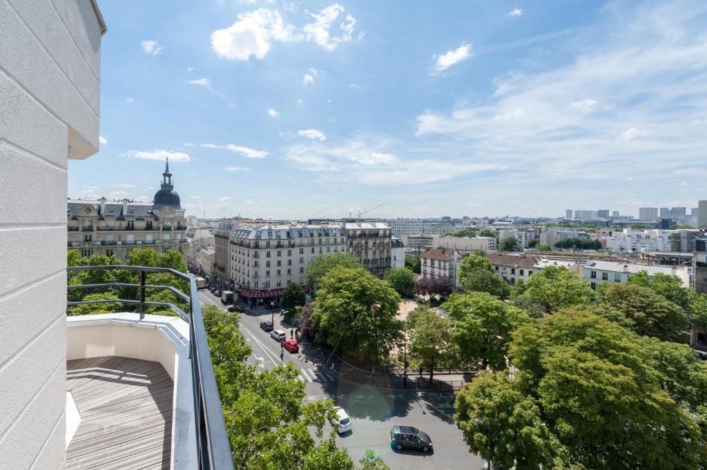 Balcon ou terrasse dans l'établissement Hôtel le 209 Paris Bercy