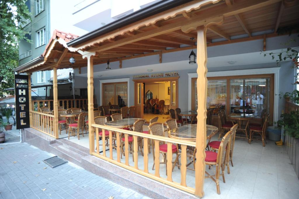 A restaurant or other place to eat at Thermal Aydın Hotel