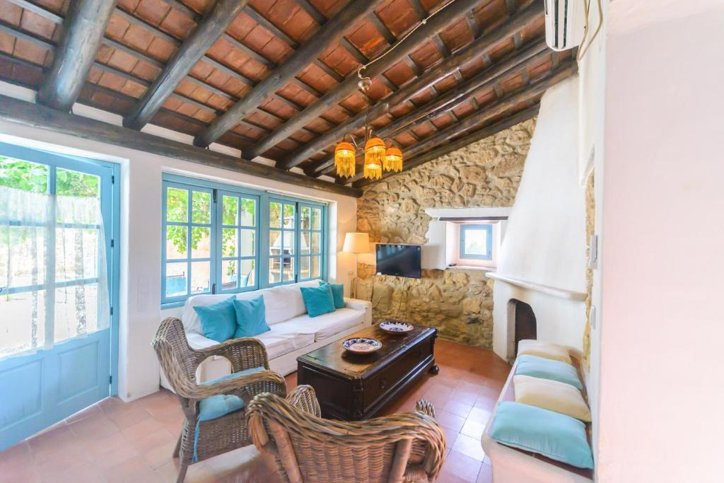 Zona de estar de Casa Spa La Agueda y Robledo