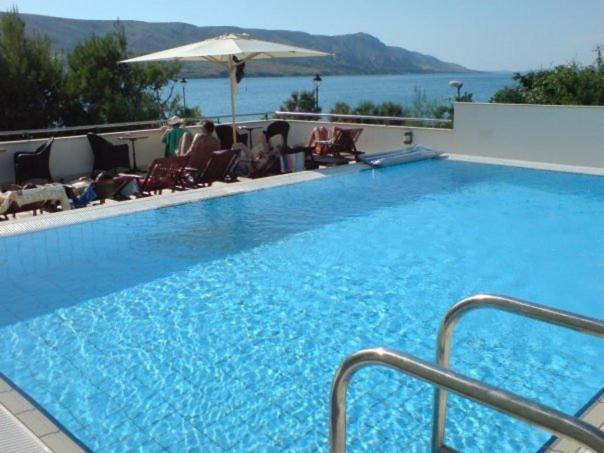 The swimming pool at or near Hotel Meridijan Adults Only