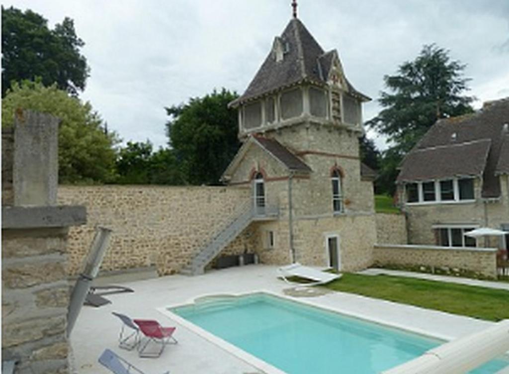 Piscine de l'établissement Gîtes Louis de Vauclerc ou située à proximité
