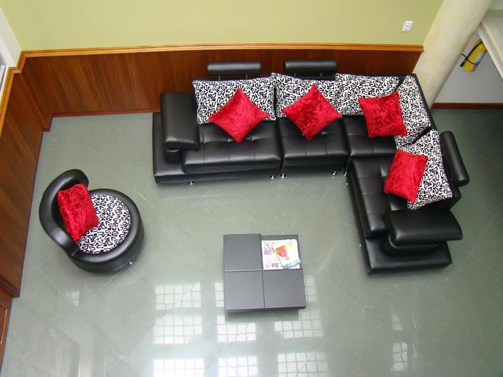 Zona de estar de Apartahotel Vincent Suites