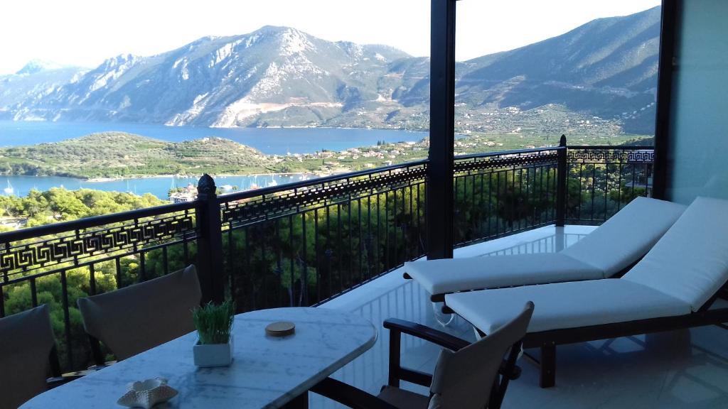 Widok na góry z tego hotelu