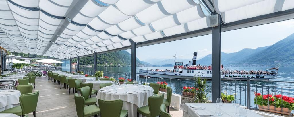 A restaurant or other place to eat at Villa Belvedere Como Lake Relais