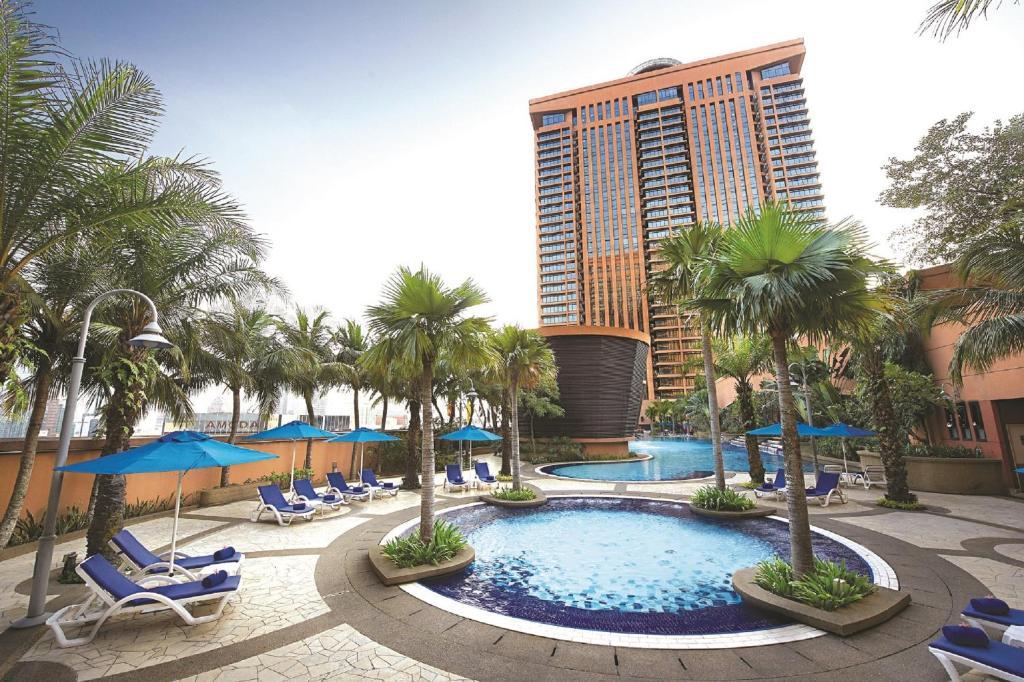 The swimming pool at or near Berjaya Times Square Hotel, Kuala Lumpur
