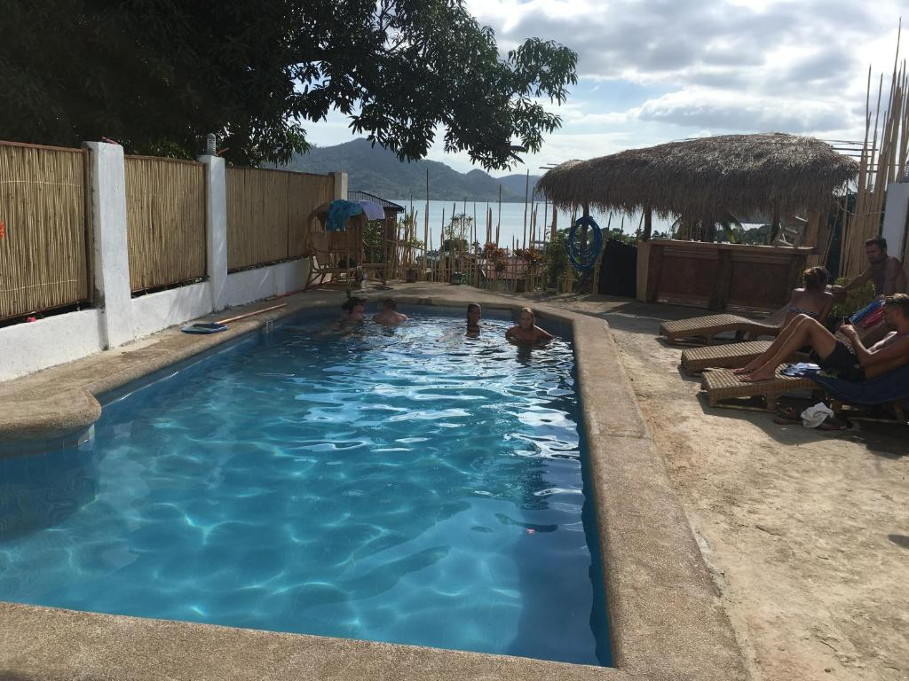 The swimming pool at or near Casa Montemar