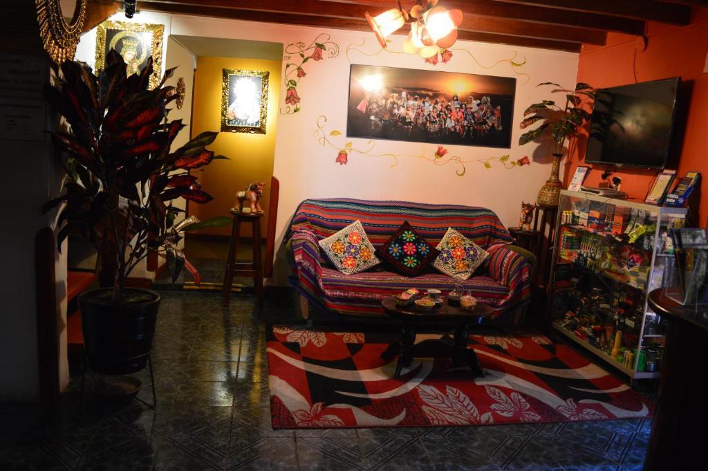 Zona de estar de Paucartambo Wasichay