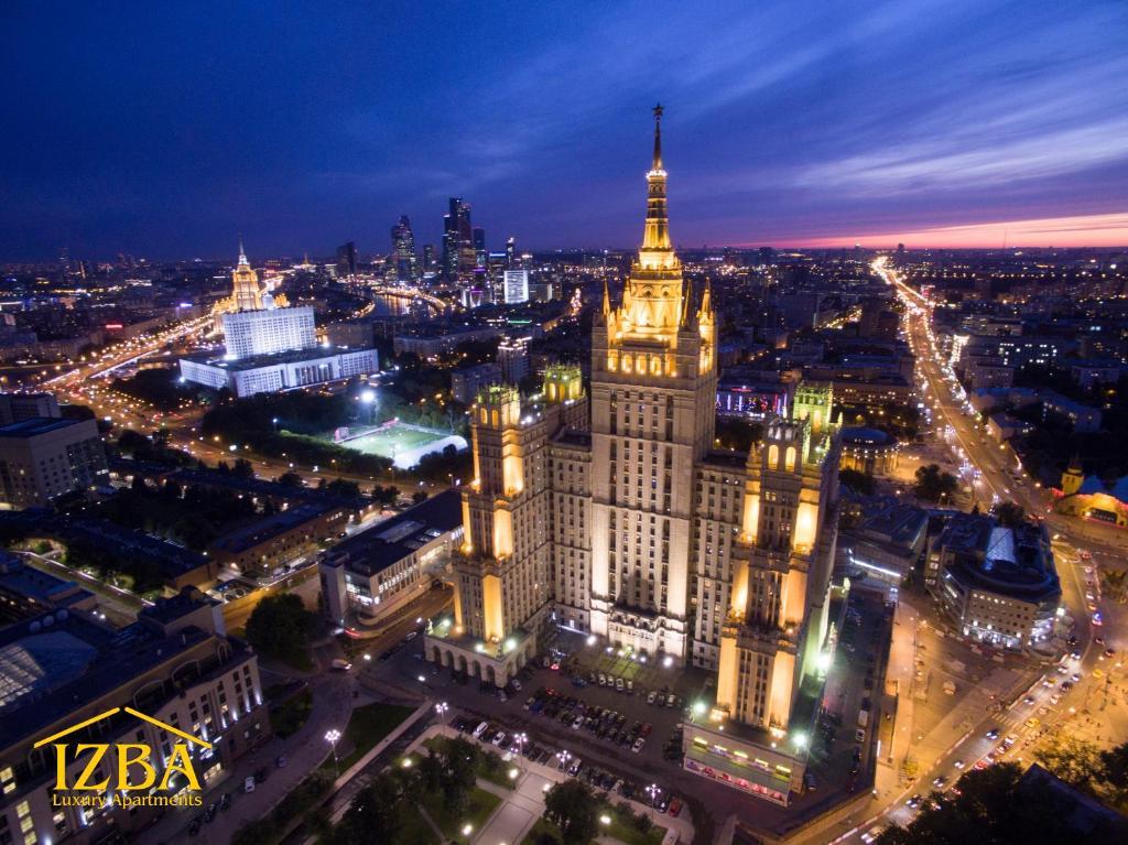 A bird's-eye view of Kudrinskaya Tower
