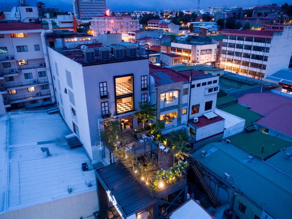 Hotel Presidente San Jose City Center a vista de pájaro