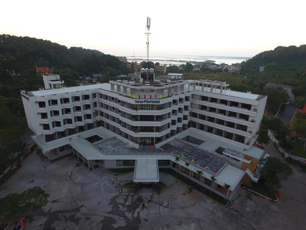 Tầm nhìn từ trên cao của Lam Nghiep Do Son Hotel