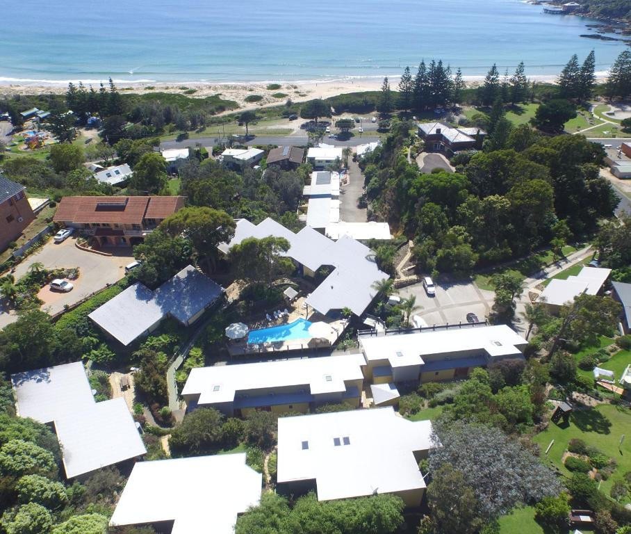 A bird's-eye view of Tathra Beach House Holiday Apartments