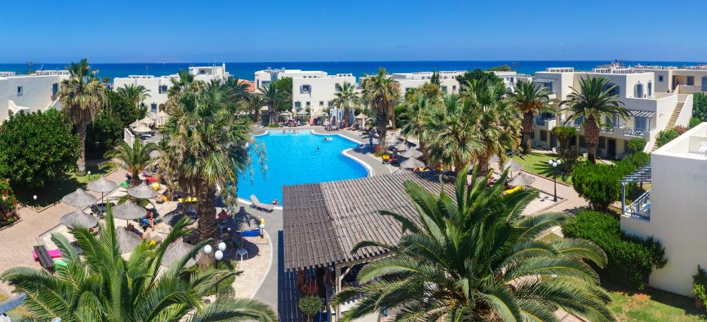 A view of the pool at Europa Beach Hotel or nearby