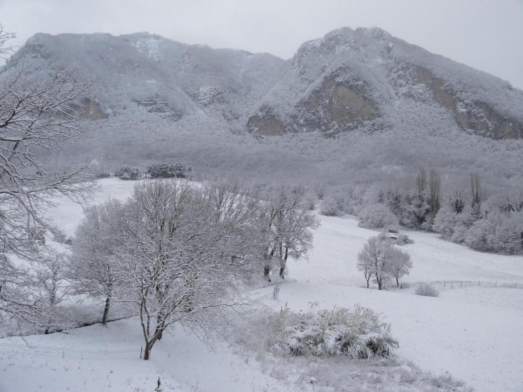 Agriturismo I Fondacci durante l'inverno