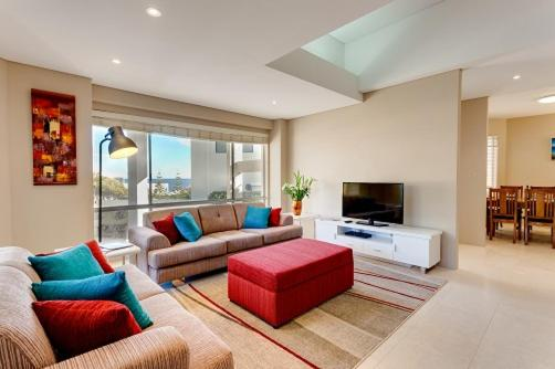 A seating area at Cottesloe Contemporary Villa