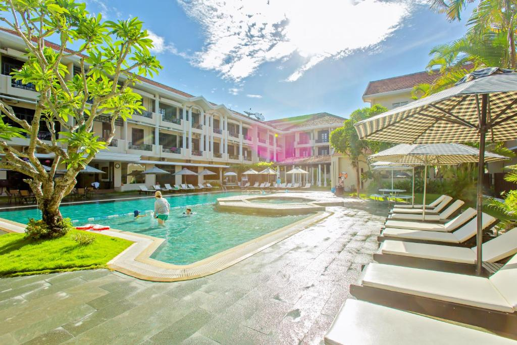The swimming pool at or near Hoi An Historic Hotel