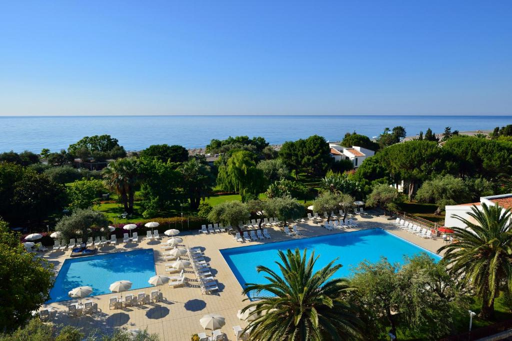 A view of the pool at UNAHOTELS Naxos Beach Sicilia or nearby