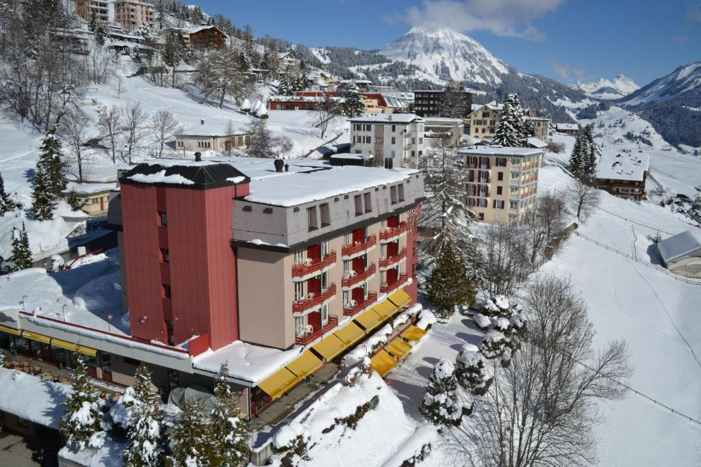 Alpine Classic Hotel during the winter