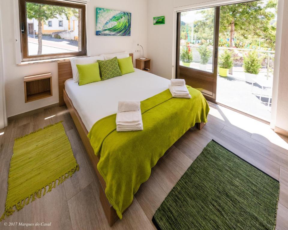 Cama ou camas em um quarto em Infusion
