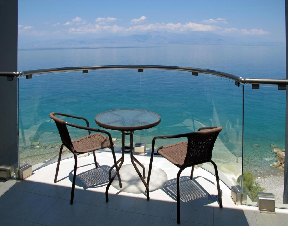 A balcony or terrace at Arion Hotel