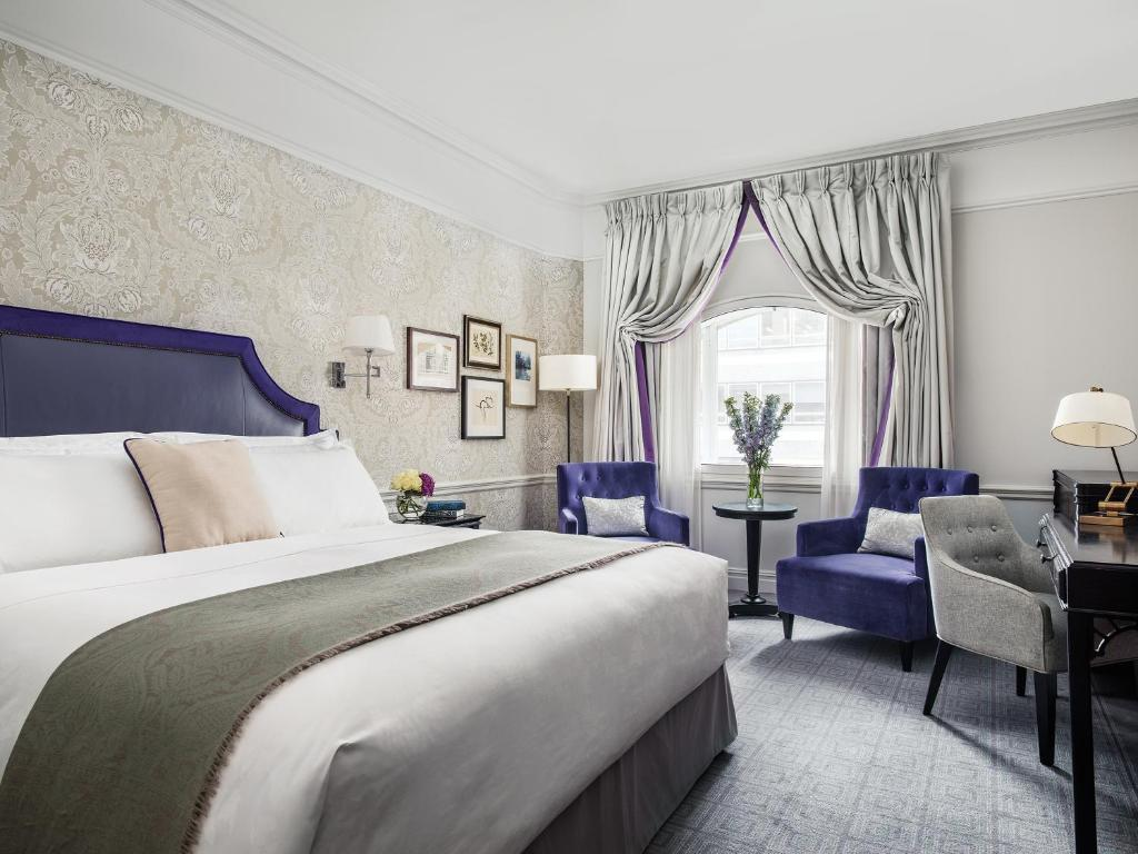 Letto o letti in una camera di The Langham London
