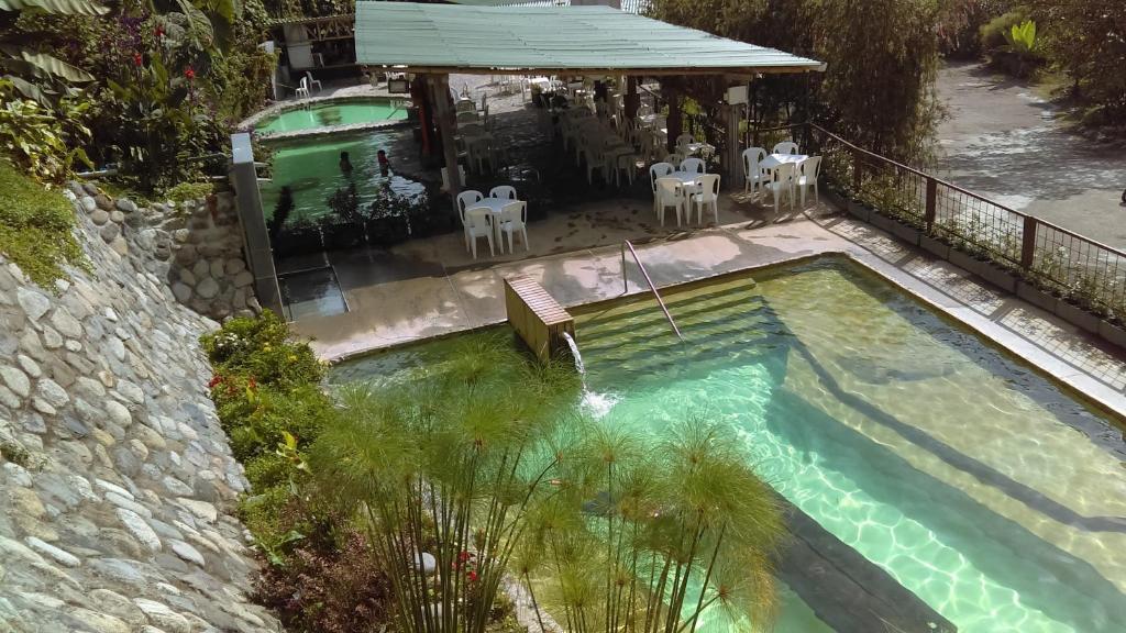 Vista de la piscina de Hotel Termales Tierra Viva o alrededores