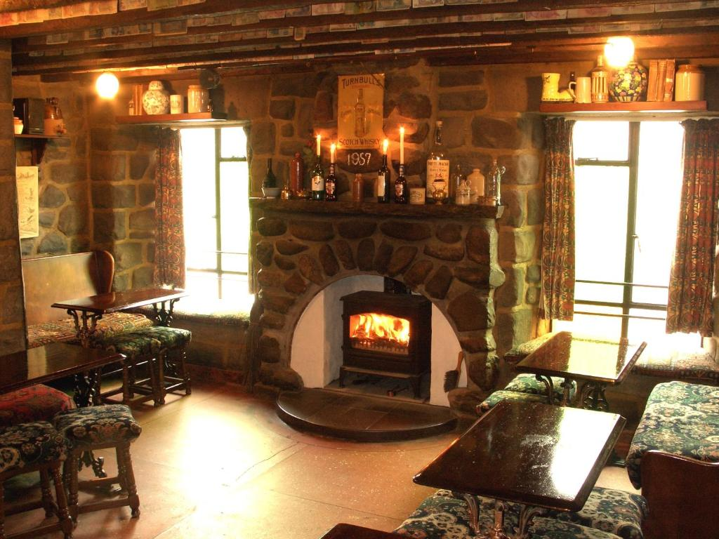 A seating area at The Cuilfail Hotel