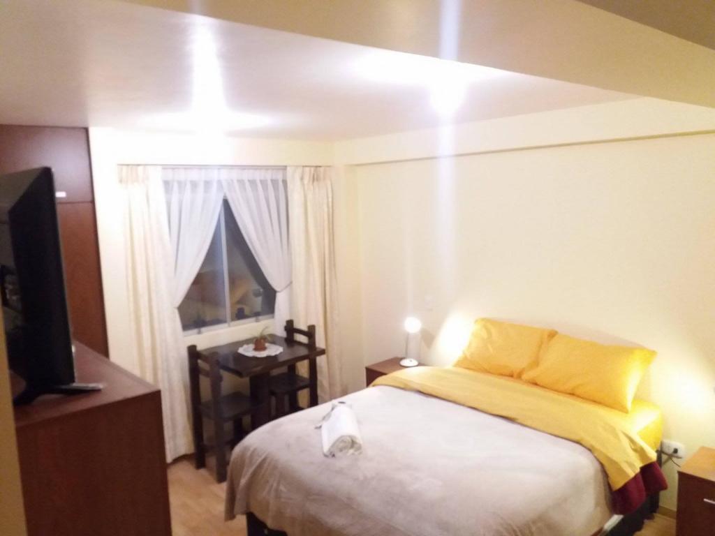 Cama o camas de una habitación en Orquideas del Sol