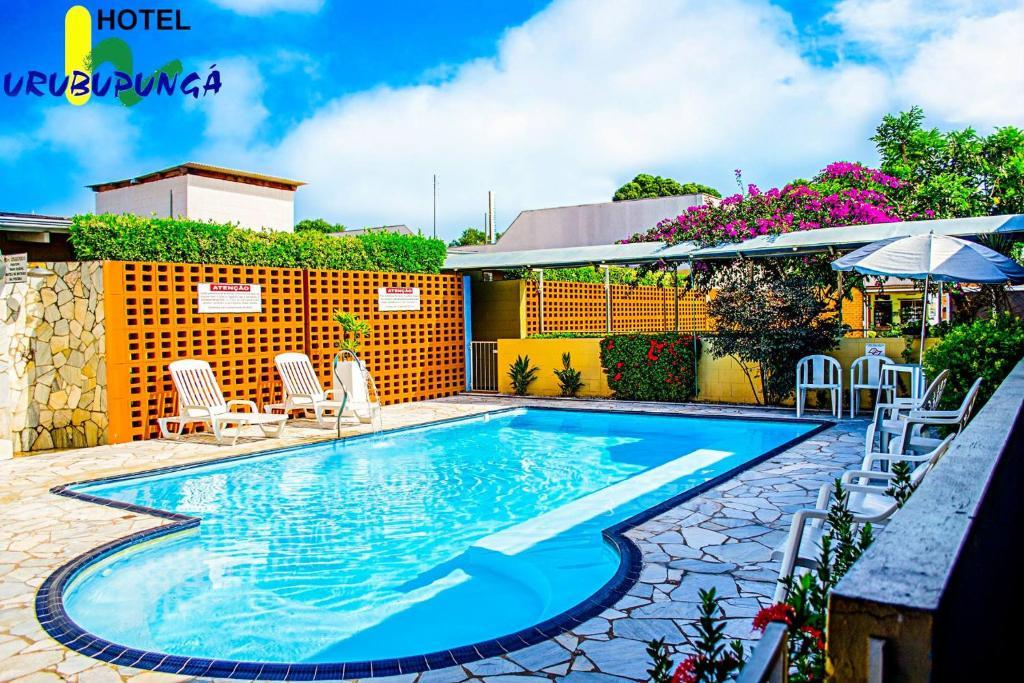 The swimming pool at or near Hotel Urubupunga