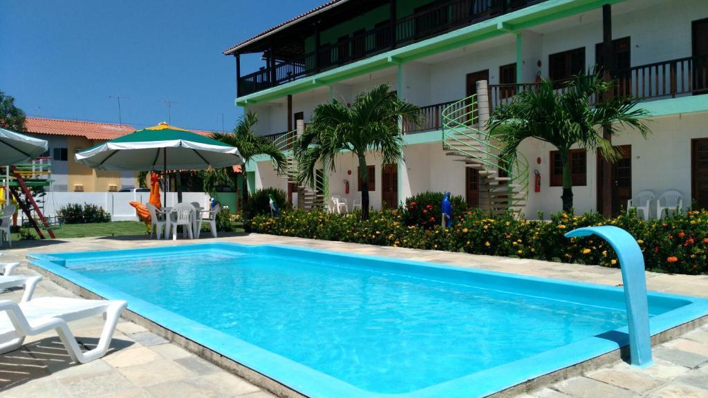 The swimming pool at or near Pousada Porto De Galinhas