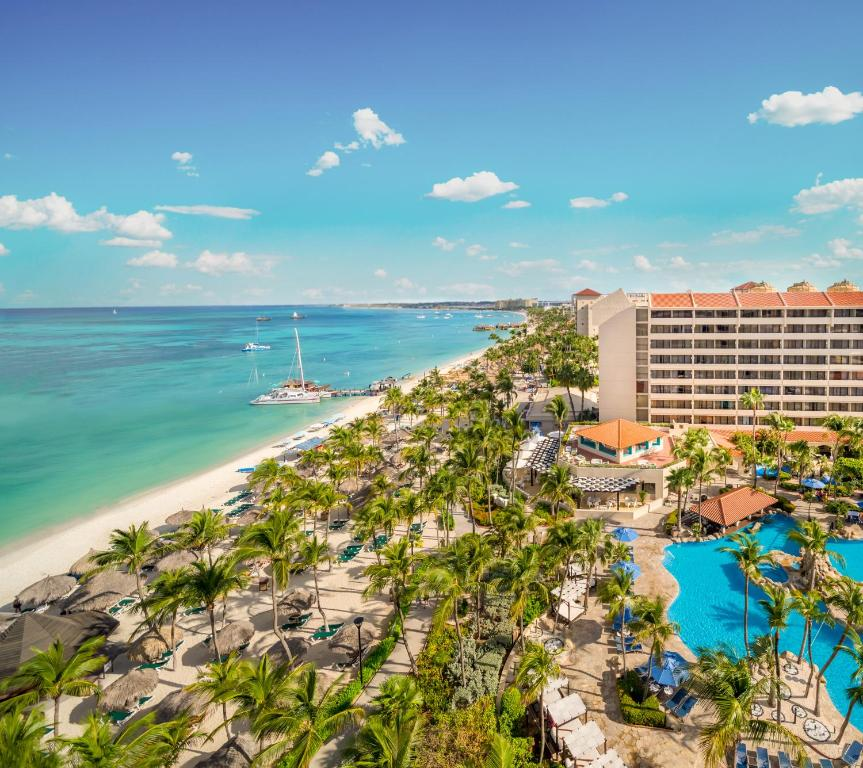 A bird's-eye view of Barceló Aruba - All Inclusive