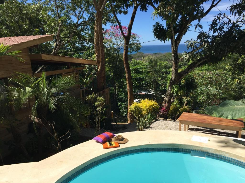 A view of the pool at Madera Vista North Santa Teresa or nearby