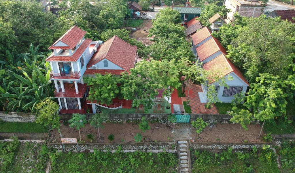 A bird's-eye view of Ho Khanh's Homestay