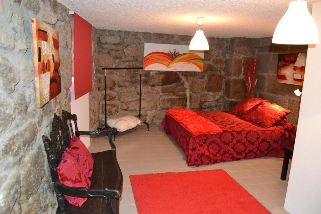 A seating area at Casa d' Avo Elisa