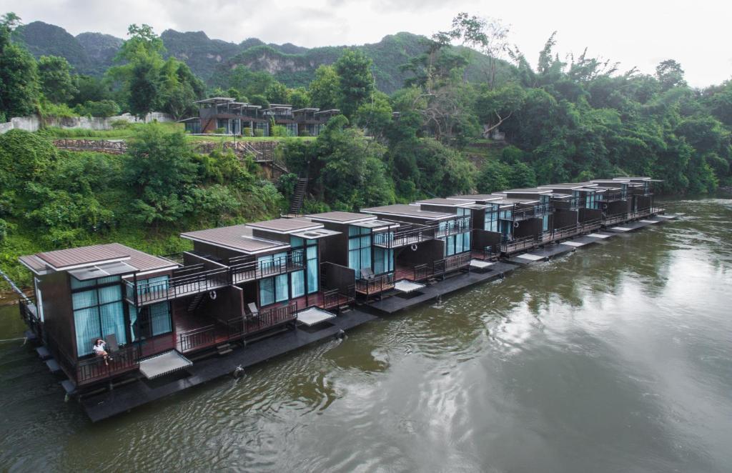 A bird's-eye view of Kwai Tara Riverside Villas