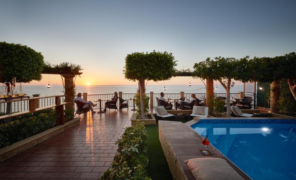 The swimming pool at or near Hotel Rocca Della Sena