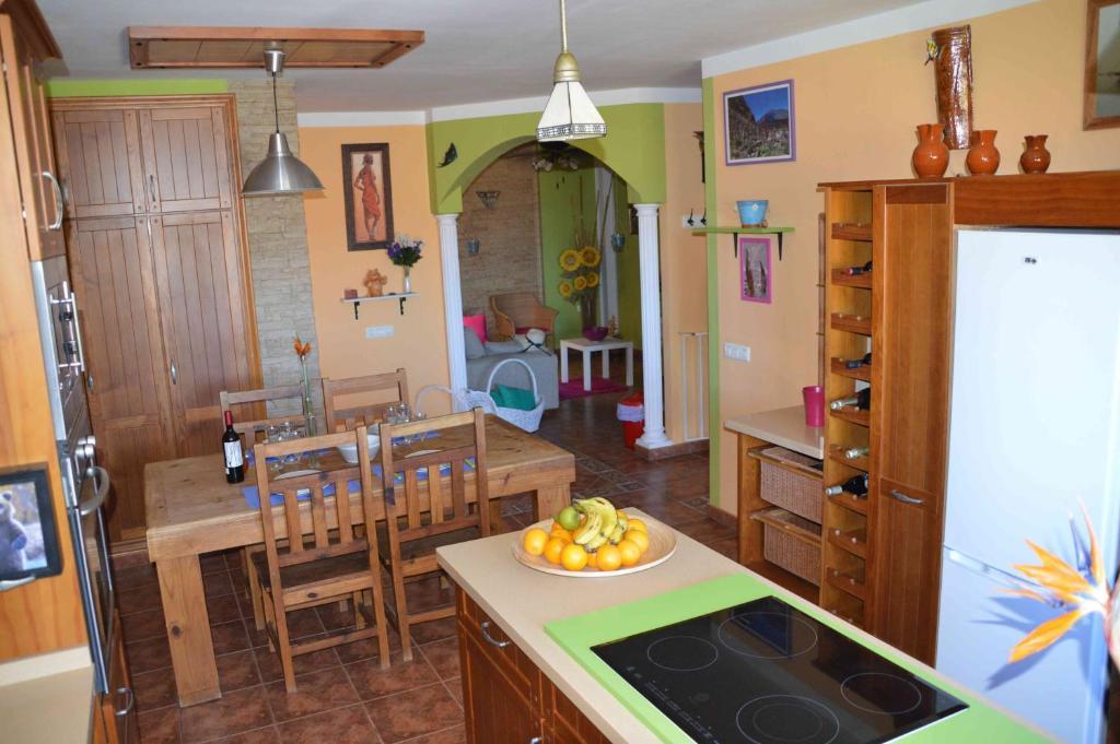 Küche/Küchenzeile in der Unterkunft Casa Tajinaste